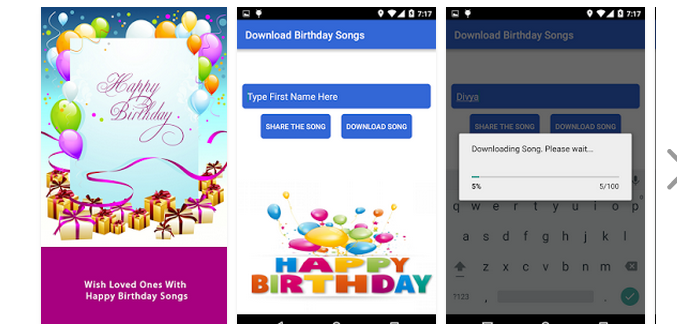 Happy Birthday Song By Name – Apps Valley Developers